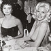 Sophia Loren and Jane Mansfield (1957)