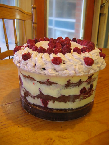 HCB Chocolate Raspberry Trifle