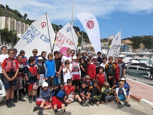 con todos los campeones III Trofeo Vela CBRB