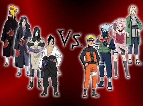 Naruto: Enemy and Friends