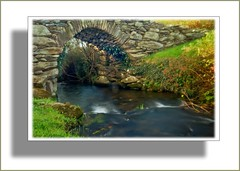 old bridge dingle (Norman Atkinson) Tags: trees ireland history water landscape landscapes woods kerry hdr hdri naturesfinest dingale anawesomeshot