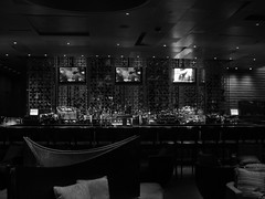 Bobby Flay Steak Restaurant at the Borgata Casino (iirraa) Tags: new city blackandwhite bw bar restaurant newjersey nj casino atlantic steak atlanticcity jersey bobby steaks flay borgata bobbyflay