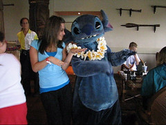 Stitch (PrincessAshley) Tags: world trip travel autumn vacation fall orlando stitch florida disney september disneyworld fl wdw waltdisneyworld kissimmee 2007 polynesian disneys ohanabreakfast disneyparks yearofamilliondreams