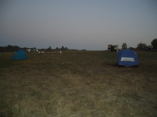 Chicken hill tents
