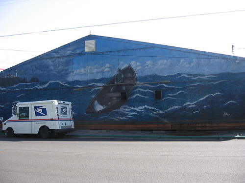 mural in old Newport
