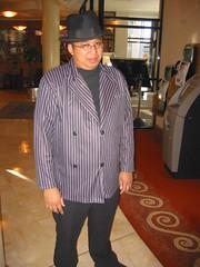 Me as Al Capone / Oddjob