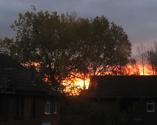 Fire in the Sky: Sunrise - 31st October
