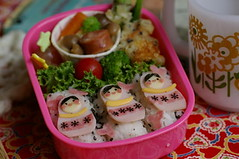 Russian doll bento box (luckysundae) Tags: