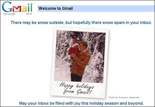 Google Mail Startseite