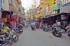 Rajasthan : Jodhpur #7 (foto_morgana) Tags: india shopping asia bazaar bazar rajasthan jodhpur