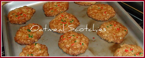 Oatmeal Scotchies baked