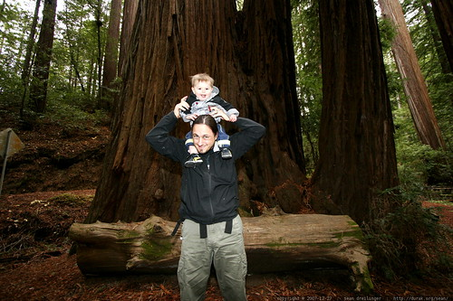 sean & sequoia under the heritage grove redwood trees - _MG_7966