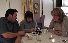 James, Laura & Mom play Taboo!