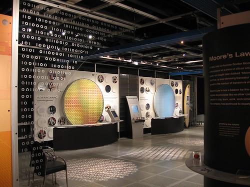 Museo de Intel microchips