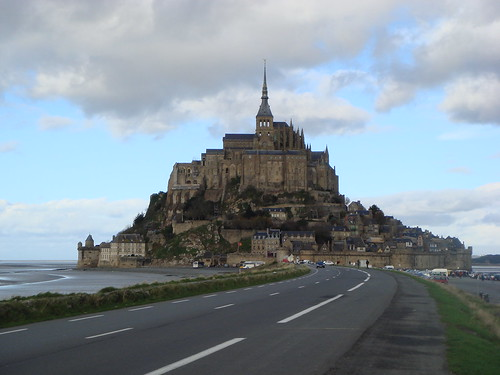 The city of Mont Saint Michel
