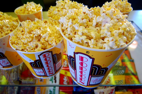 Photo- Popcorn at the movies