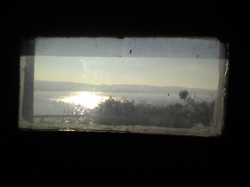 Through a window from Alcatraz
