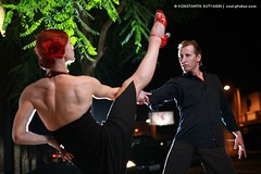 Latin dance (Konstantin Sutyagin) Tags: black night dance couple dancers latin passion