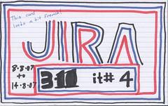 JIRA 3.11 Iteration 1