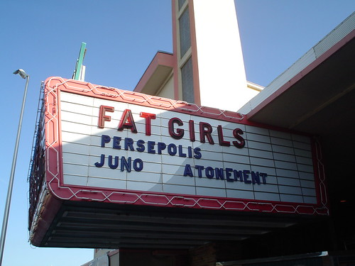 Fat Girls movie sign