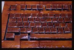 Shellac Typeform Detail 3 (lackey.evan) Tags: evan art keyboard shellac lackey typeform evanlackey