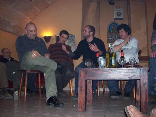 glosadors a l'aniversari dels CdM