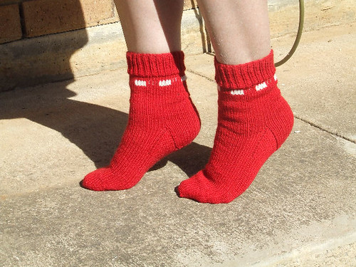 Socks I have knitted. 2354079330_2d2a8cd9b7