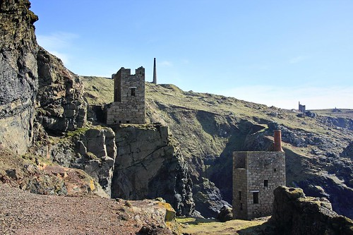 Crowns Engine Houses, Botallack Mine.