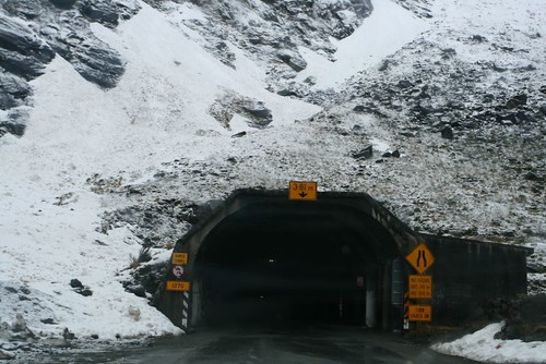 Entrance of the tunnel