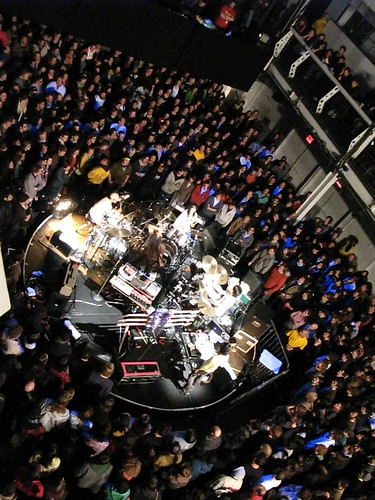 boredoms in the round at terminal 5