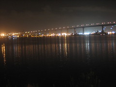 IMG_5927.JPG (tantek) Tags: reflection view sandiego balcony citylights coronado afterparty coronadobridge marriottcoronado adactio:post=1427 afterparty20 room387
