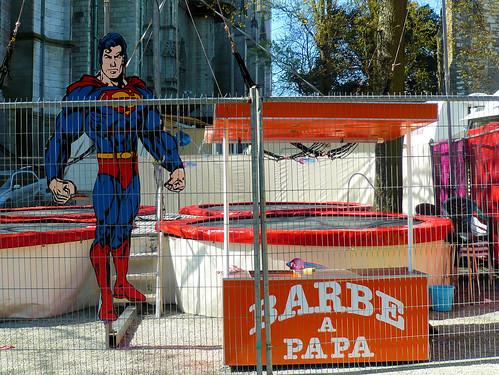 Superman / Barbe à papa