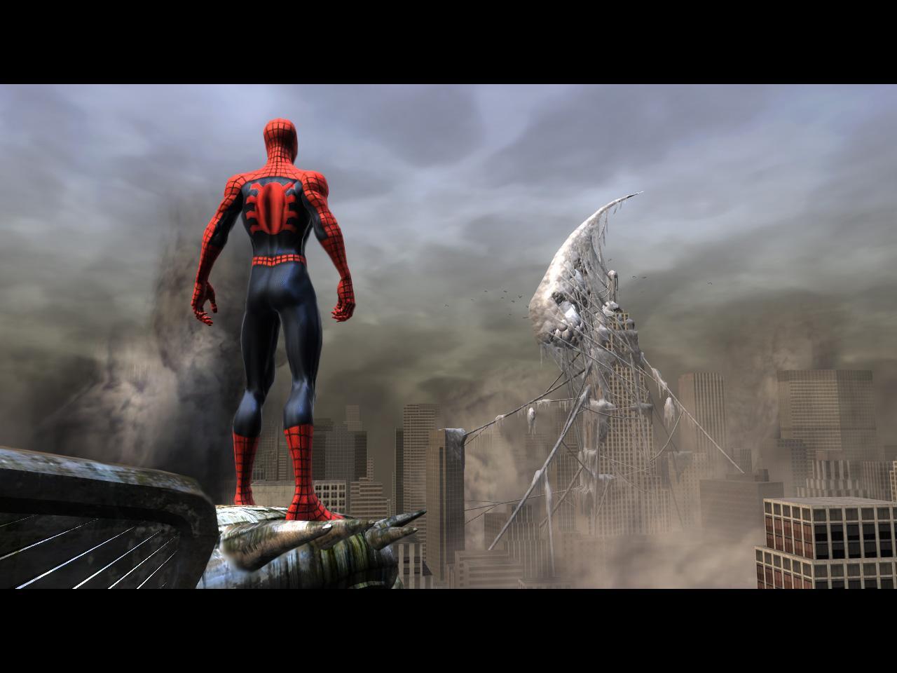 Spider man web of shadows desktop wallpaper