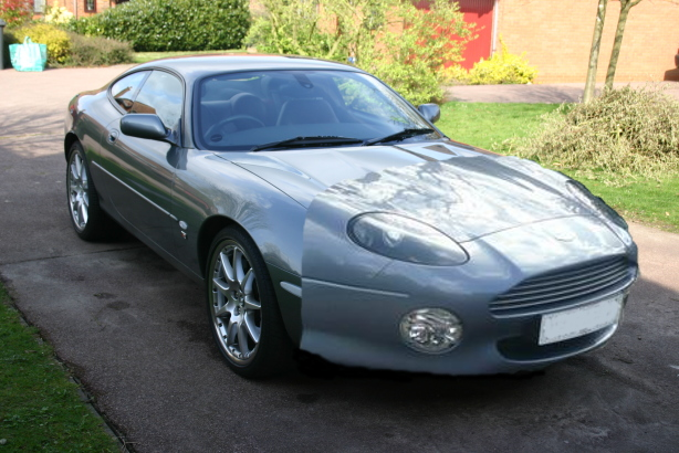 xk8 with aston db7 front bumper and headlights - Page 1