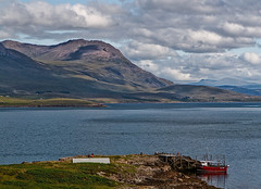 MV Hectoria at The Anchorage, Tanera More (mijoli) Tags: blue sky clouds scotland ross ef2470mmf28lusm harbourisland theanchorage summerisles benmorecoigach vob taneramore lightzone mvhectoria canon400d tannaramor scenicsnotjustlandscapes badentarbatbay summerislescruises anacarsaid