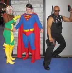 New York Comicon 2008: Rogue, Superman & Blade (MorpheusBlade) Tags: costume cosplay superman blade rogue daywalker nycomicon newyorkcomicon bladetheseries bladehouseofchthon newyorkcomicon2008 nycomicon2008