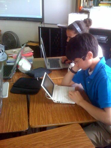 Student eeePC user