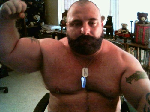 Body building gay Bear