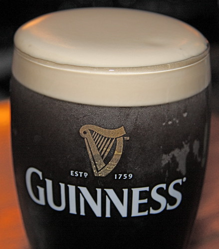 First Guinness (with flash)