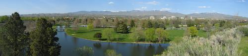 Spring Panorama - Boise