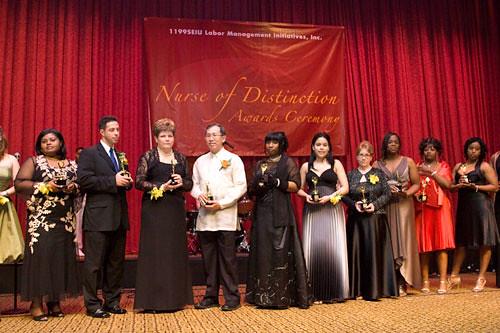 new yorks fifth annual nurse of distinction awards