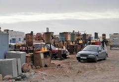 Petrol Station (magellano) Tags: rabouni saharawi sahrawi campo camp petrol station distributore benzina stazione servizio deserto desert auto car
