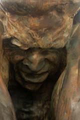 Estatua De la violencia de genero (H&T PhotoWalks) Tags: estatua statue sculpture expression face cartagena murcia spain canoneos400d sigma18250 tan pain