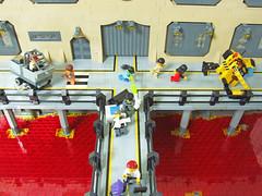 Mayhem (Cuahchic) Tags: truck lego space soldiers spaceship base mecha mech starfighter femifig