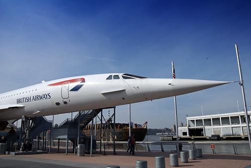 British Airways Concorde.
