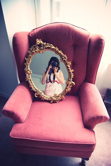 grandma's mirror.
