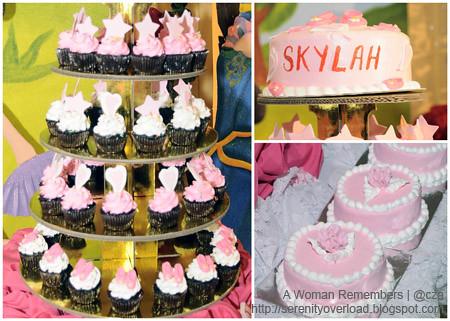 ballerina-cake,ballerina-cupcakes