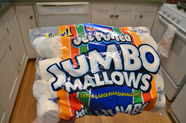 jumbo marshmallows!