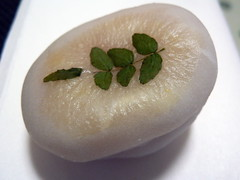 kinome mochi 木の芽餅