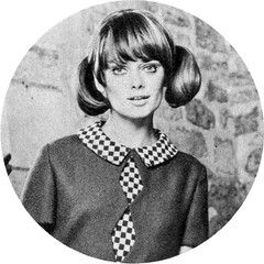 the 1960s-1966 hairstyling and dress (april-mo) Tags: fashionphotography the60s vintagefashion the1960s 1960sdress 1960shairstyling 1960smagazineforwomen 1966fashion 1966look the1960slook 1966pigtails 1960spigtails